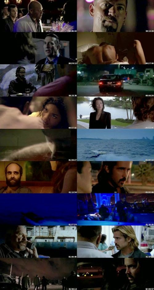 Miami Vice (2006) [Dual Audio] [Hindi English] Unrated BRRip 480p 300MB Screenshot